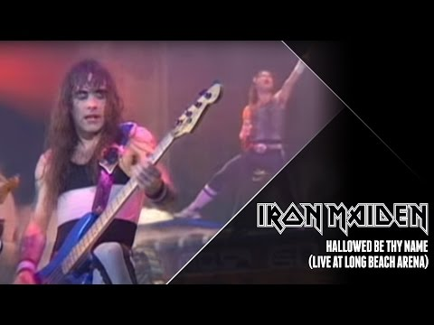 Iron Maiden – Hallowed Be Thy Name (Live at Long Beach Arena)