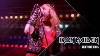 Iron Maiden – Run To The Hills (Official Video)