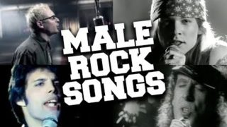 Top 50 Most Viewed Male Rock Songs of All Time (Updated in April 2020)