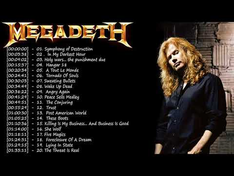 Megadeth Greatest Hits    Best Songs Of Megadeth